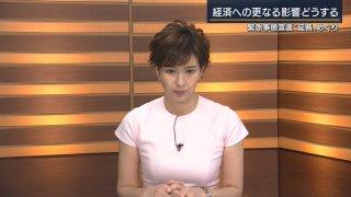 徳永 有 美 アナ なぜ t シャツ 報ステ・徳永有美アナ なぜTシャツ?「謎の半袖」「ムチムチ衣装」と話題に