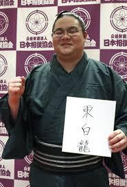 大相撲の東白龍(とうはくりゅう)の読み方と四股名の由来!wikiプロフィール!