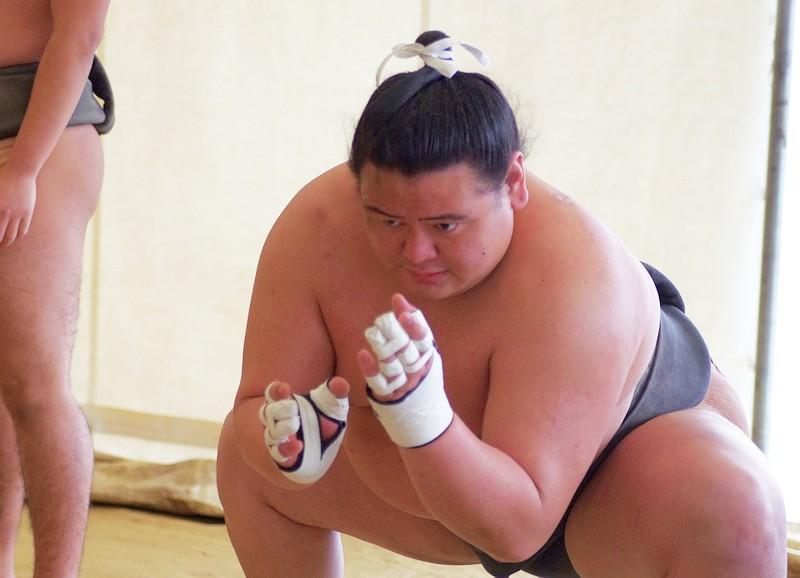 荒篤山力士はハーフで新十両昇進!出身中学は横浜市緑区で家族も紹介